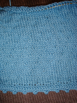 Blue Cot/Soy Sweater