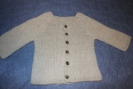 Finished Sage Sweater